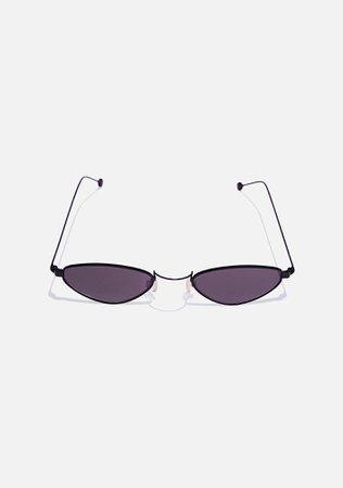 Good Times Eyewear Hip Kitty Cat Eye Sunglasses   Dolls Kill