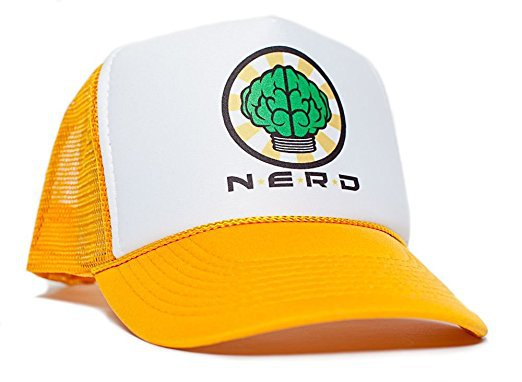 N*E*R*D Yellow Trucker Hat