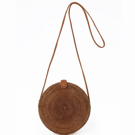 Palermo Round Basket Bag | Betsy & Floss | Wolf & Badger