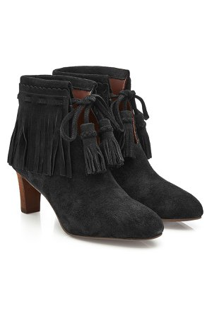 Irina Suede Ankle Boots Gr. IT 40