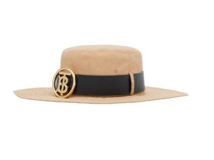 men Burberry desert hat