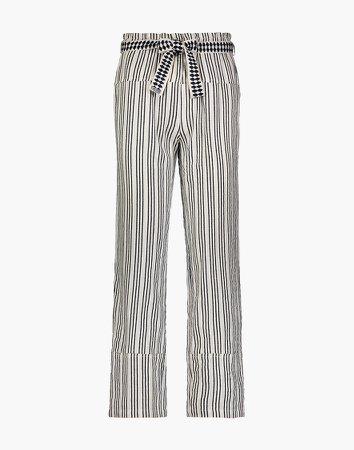 lemlem Tigist Tie-Belt Pants