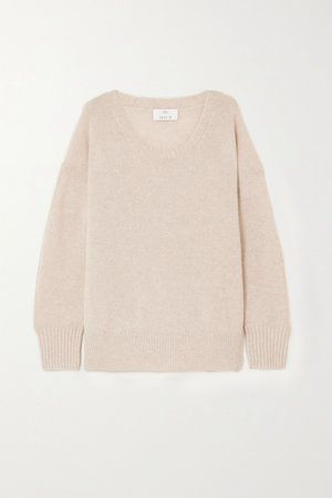 Beige Cashmere sweater | Allude | NET-A-PORTER