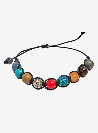 Universe Planets Corded Bracelet