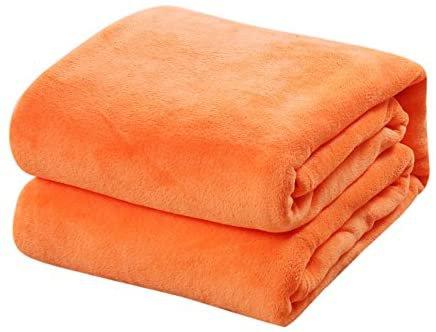 Amazon.com: Flannel Velvet Plush Throw Blanket and Bed Blanket, Super Soft Warm Sofa Blanket, Fleece Blankets Soft Warm Lightweight Bed Blankets for Adults Pet, Fluffy Blanket for Baby Girl boy (Orange): Toys & Games
