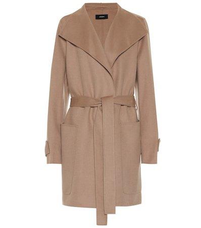 Lista wool-blend coat
