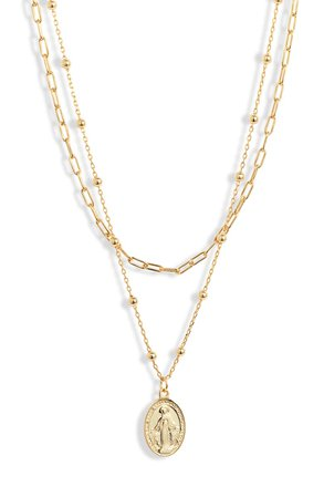 Argento Vivo Religious Layer Necklace | Nordstrom