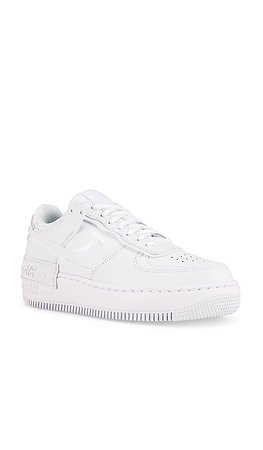 Nike Air Force 1 Shadow Sneaker in White | REVOLVE