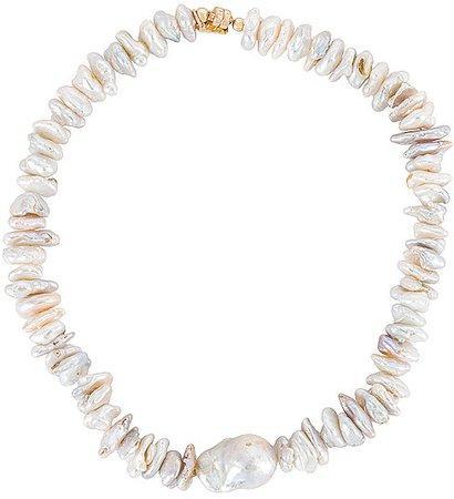 Katharos Pearl Choker Necklace