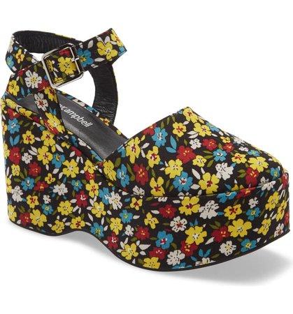 Jeffrey Campbell Bohemian Platform Wedge Sandal (Women)   Nordstrom