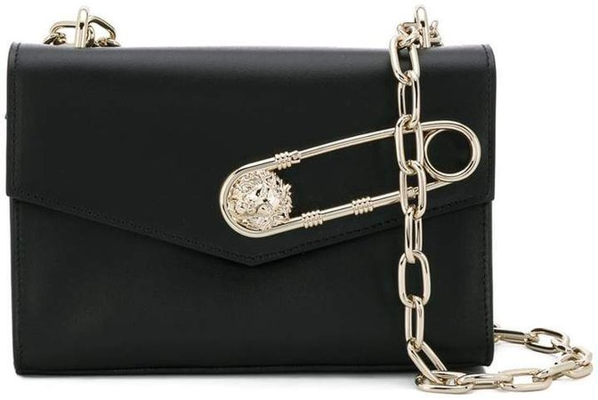 safety pin crossbody bag