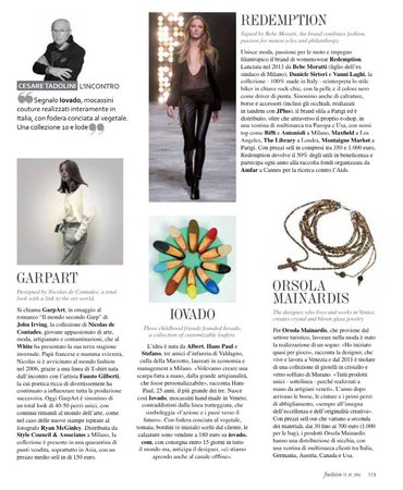Fashion magazine | Orsola Mainardis Jewels