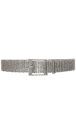 B-Low the Belt Farah Belt in Silver | REVOLVE