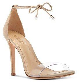 Women's Josseana Open Toe Nubuck High-Heel Sandals