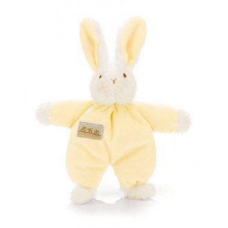 pastel yellow bunny stuffie