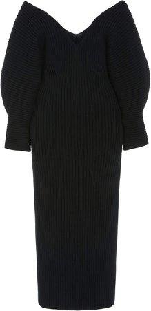 Mara Hoffman Lavina Off-The-Shoulder Cotton Dress