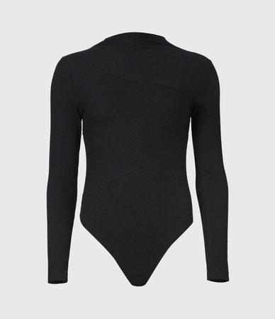 ALLSAINTS US: Womens Gia Bodysuit (black)
