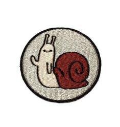Waving snail patch
