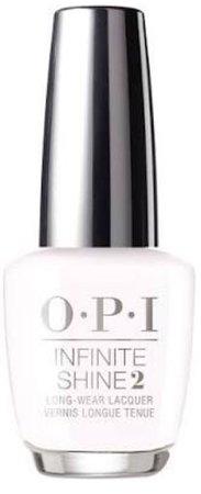 white nail polish OPI