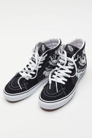 Vans Sk8-Hi TM Glow Skulls Sneaker | Urban Outfitters