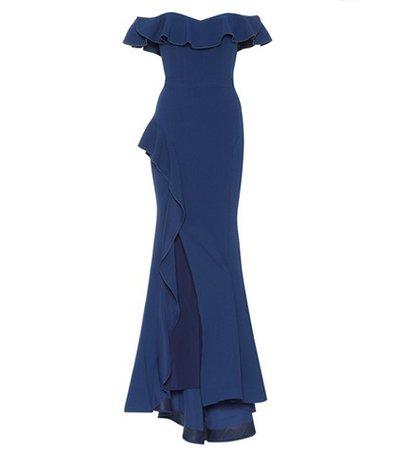 Aegean off-the-shoulder dress