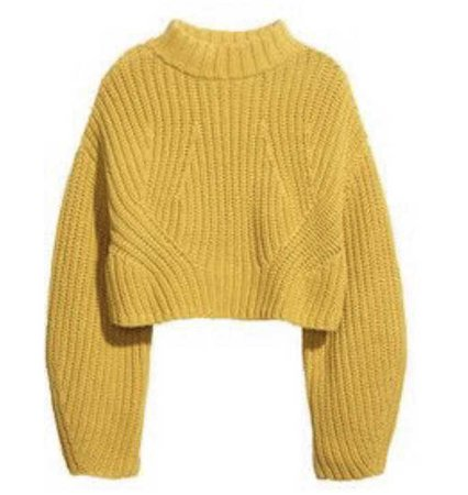 Yellow Sweater