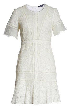 French Connection Chante Lace Minidress | Nordstrom