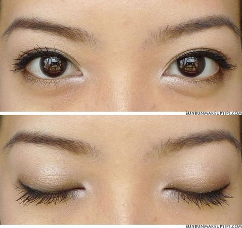 korean eye makeup light