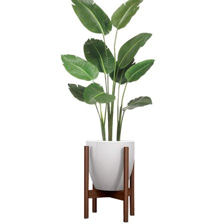 35cm Indoor Wood Plant Flower Pot Planter Stand Assembly Beech Holder Wooden Floor Potted Rack for Home Office Decor|Flower Pots & Planters| | - AliExpress