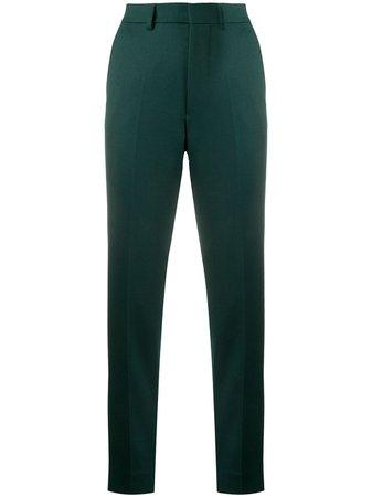 AMI Paris slim-fit Tailored Trousers - Farfetch
