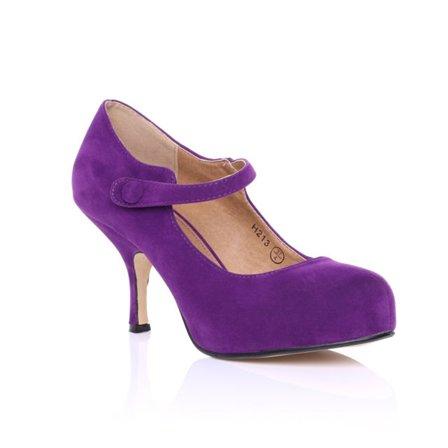 purple heels - Google Search