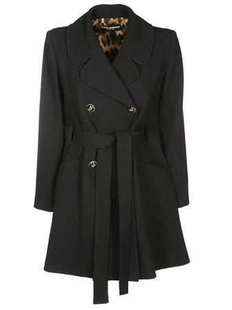 Dolce & Gabbana Double Waisted Coat