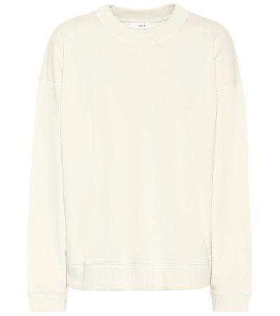 Vince - Cotton sweatshirt | Mytheresa