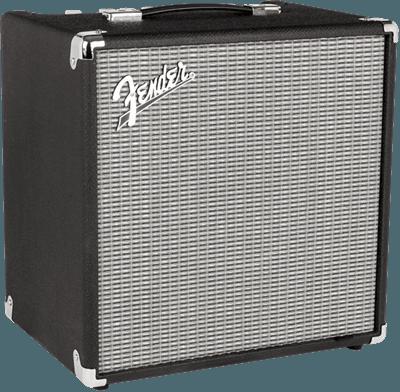 Fender Rumble 40 (V3), Negro/Silver, Black/Silver, Amp bass guitar