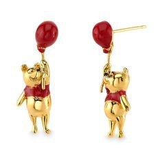Winnie the Pooh Earrings by RockLove