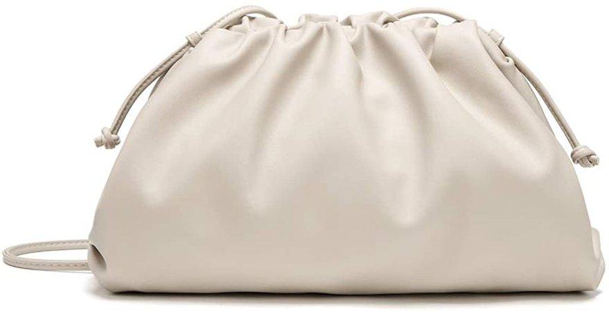 Women Dumplings Crossbody Bag Retro Ruched Shoulder Bags Fashion Tide Handbag Pouch Clutches Bag: Handbags: Amazon.com