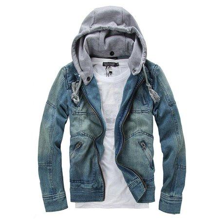 Male denim jacket