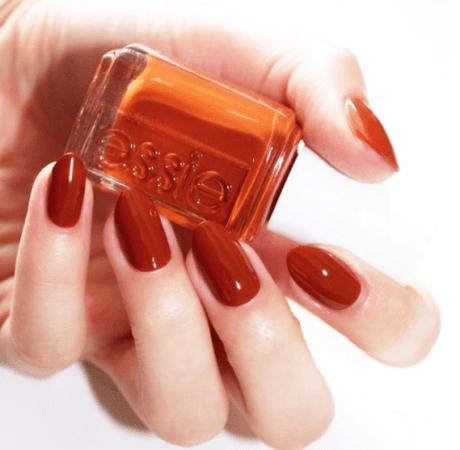 Rust Orange Nails