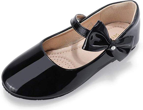 Black Dress Shoes for Girls