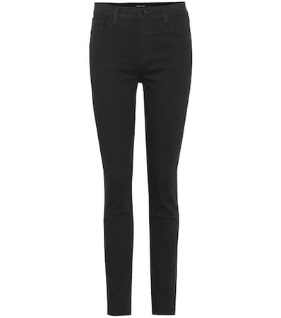Ruby high-waisted skinny jeans