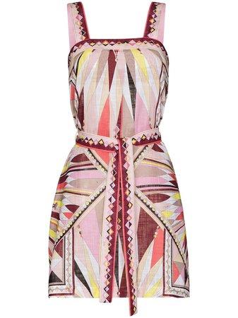 Emilio Pucci Bes-print beach dress