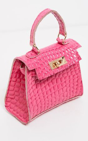 Pink Mini Bag   Accessories   PrettyLittleThing