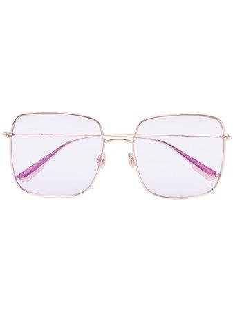 Dior Eyewear DiorStellaire1 Square Sunglasses - Farfetch