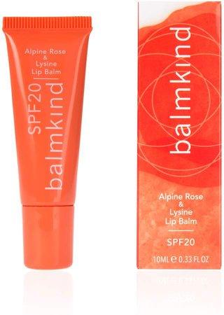 Balmkind Alpine Rose & Lysine Lip Balm Spf20