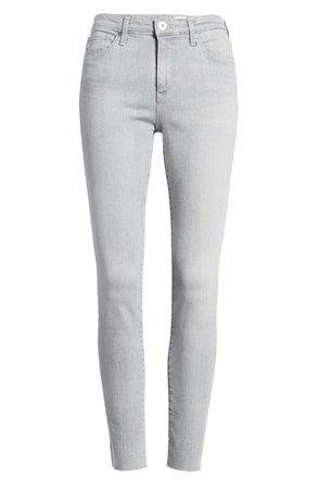 AG Aaran Raw Hem Ankle Skinny Jeans (Apprentice)