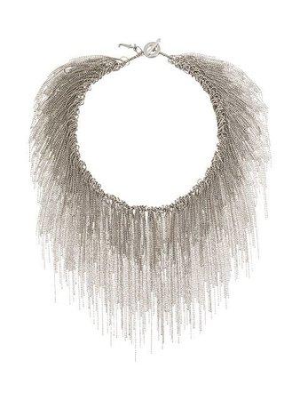Fabiana Filippi ball chain cascade necklace