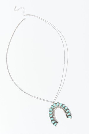 Turquoise Western Necklace | Urban Outfitters