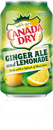 *clipped by @luci-her* Ginger Ale and Lemonade | Canada Dry