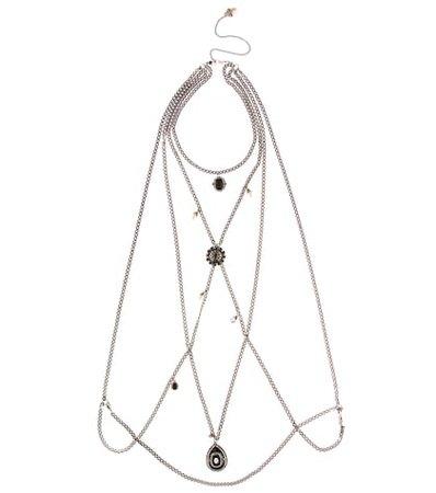 Crystal chain harness