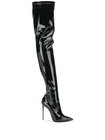 Le Silla Eva thigh-length Leather Boots - Farfetch